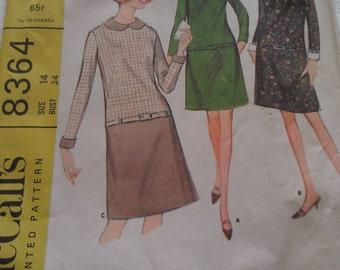 McCall's Pattern No. 8364 Size 14