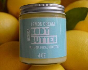 Lemon Cream Body Butter