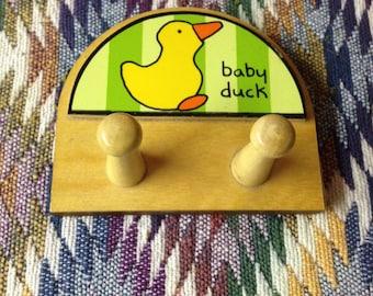 Baby Duck Wall Hooks