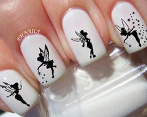 40 Tinkerbell Fairy Nail Decals