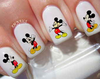 42 Mickey Mouse Nail Decals