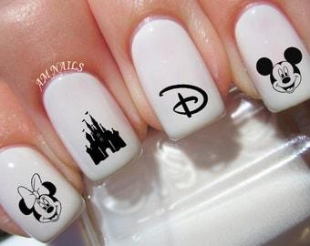 50 Disney Nail Decals