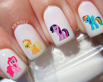 46 My Little Pony Nail Decals