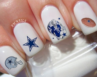 Dallas Cowboys Nail Decals