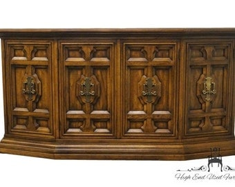 """DREXEL HERITAGE Talavera Collection Spanish Revival 62"""" Buffet / Sideboard 441-134"""