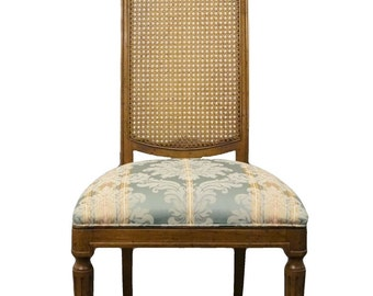 DREXEL HERITAGE Country French Regency Cane Back Side Chair
