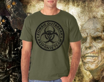 ZOMBIE  OUTBREAK  Response Team - Graphic T-Shirt