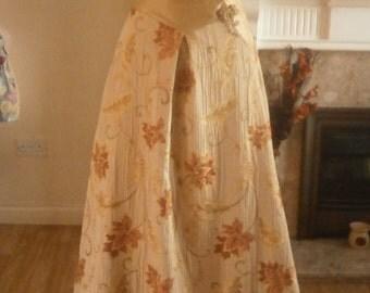 Gold wedding dress - size 10