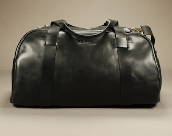 Redoker Devote Gym Bag - Genuine leather travel bag / Duffle bag / Duffel bag / Weekender bag