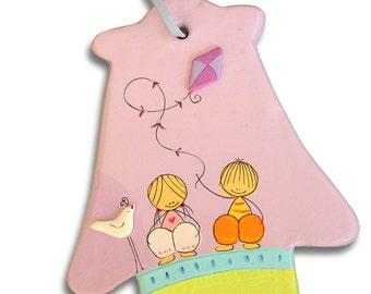 Hamsa Baby Gift | Jewish Hebrew Baby | Baby Girl Baby Boy Hamsa Wall Art - Nursery Hamsa wall decor