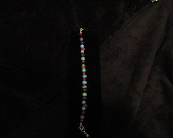 Turquoise and Stone Bracelet