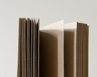Light Yellow Coptic Stitch Notebook | Sketchbook | Journal