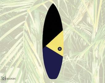 Toucan Warrior   Surfboard Sock