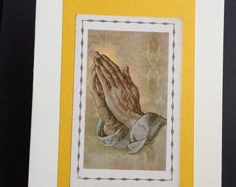 Strong Hands/Strong Prayer Card
