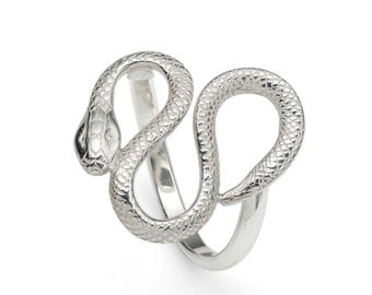 Sterling Silver Serpent/ Snake Ring