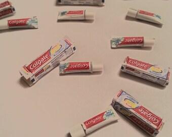 Miniature Toothpaste