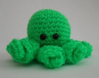 Crochet, Amigurumi octopus