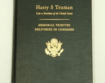 Harry S Truman Memorial Tributes book