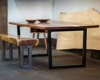 Reclaimed, Live Edge Dining Tables - made to order
