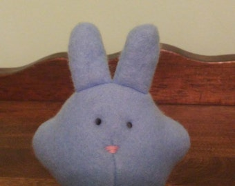 "1988 Blue Bunny Plush 4"" tall"