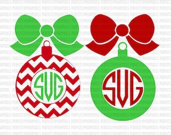 "Shop ""christmas svg monogram"" in Scrapbooking Supplies"