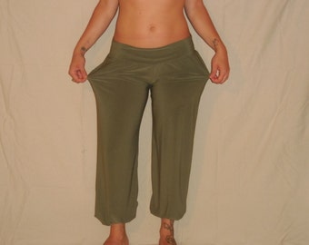 Comfortable wide pants