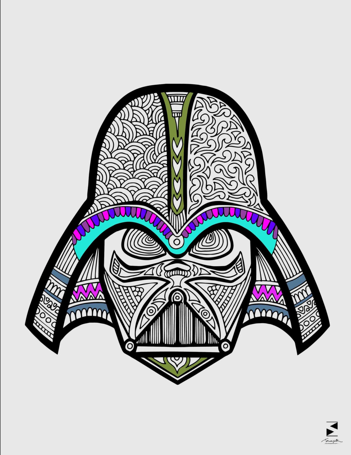 star wars coloring pages darth vader printable