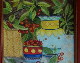 Oil on canvas - Still life