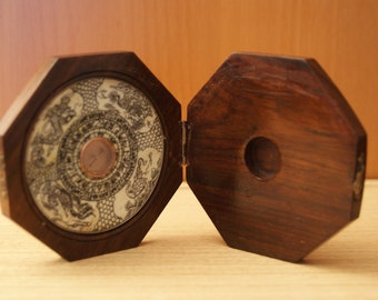 Beautiful old Feng Shui compass
