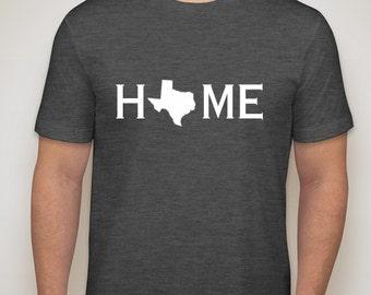 Texas home t-shirt, Texas home shirt, Texas shirt, Texas native