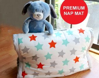 kids sleeping bag, Personalized Preschool nap mat, kids nap mat, kids blanket , kids pillow, kids play mat
