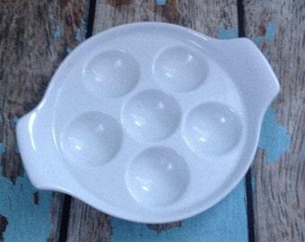 Ceramic Escargot Tray #1-0017-11