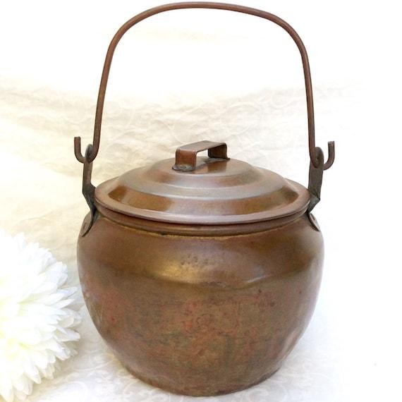 Handmade copper pots 28 images antique primitive for Handmade pots design