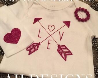 Arrows Love ONESIE