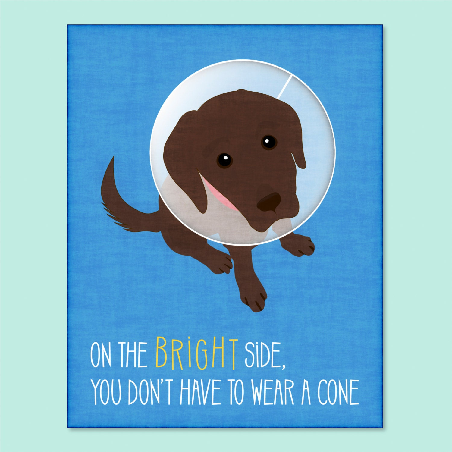 Funny dog greeting card get well soon card funny get well for Well pictures