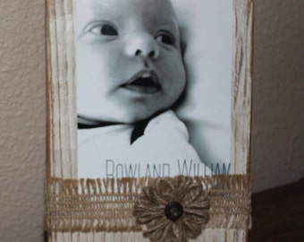 Rustic Photo Holder