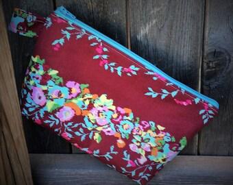 Designer Amy Butler Fabric Cosmetic Bag