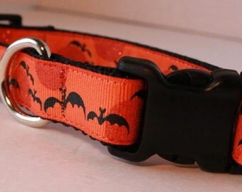 Bat Dog Collar