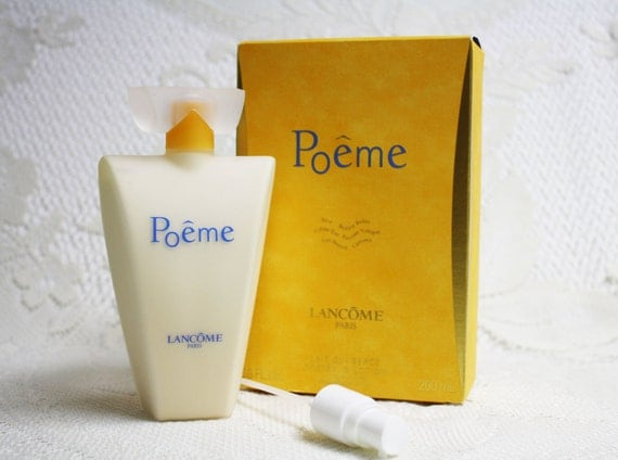 Poeme Perfumed Body Lotion Poeme By Lancome Classic Body