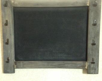 Rustic Chalkboard Keyholder