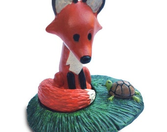 Red Fox Figurine