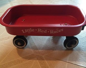 Little Red Racer Wagon!