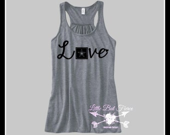 Army Love Flowy Racerback Tank, Army Wife, Army Daughter, Proud Military Wife, Military shirts