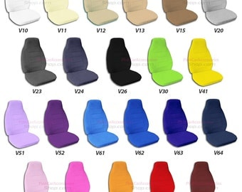 Plain Colour Car Seat Covers....Many Colours...All Cars..