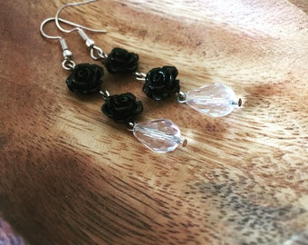 Black Rose and Crystal