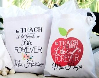 Teacher Totes - Teacher Gift - Teacher Day