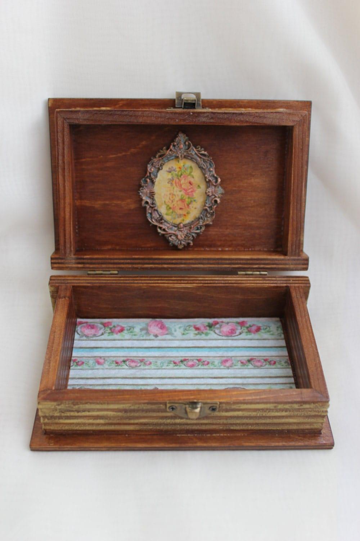 Wooden jewellery box book little girl jewelry box Pink fairy