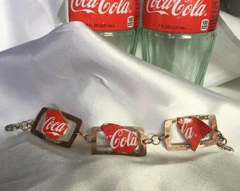 Coke Bottle Bracelet - B