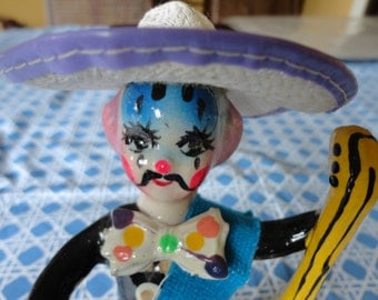 Mexican Papier Mache Clown