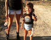 Gypsy Sister Rainbow Tee Black Girl Boho Hippie T shirt